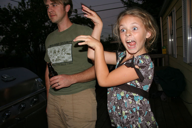 I don't have an explanation for this, except that Veda makes the best crazy faces ever!