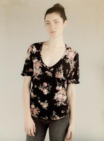 Floral Tee by Alternative Apparel