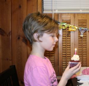 birthday cupcake from St. Cupcake