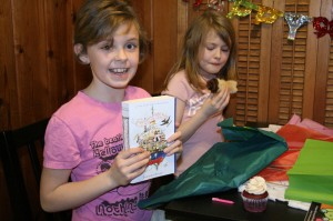 Veda was so excited to get this book!  Check it out here...