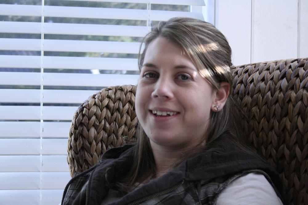 Amanda, my fab sis-in-law