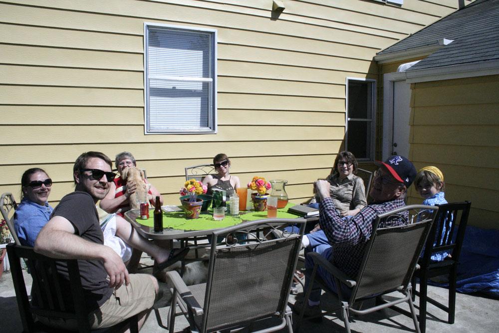 Family enjoying the sunny day!