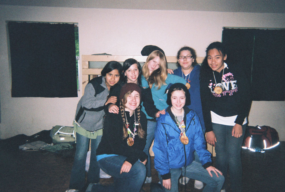 My cabin group!