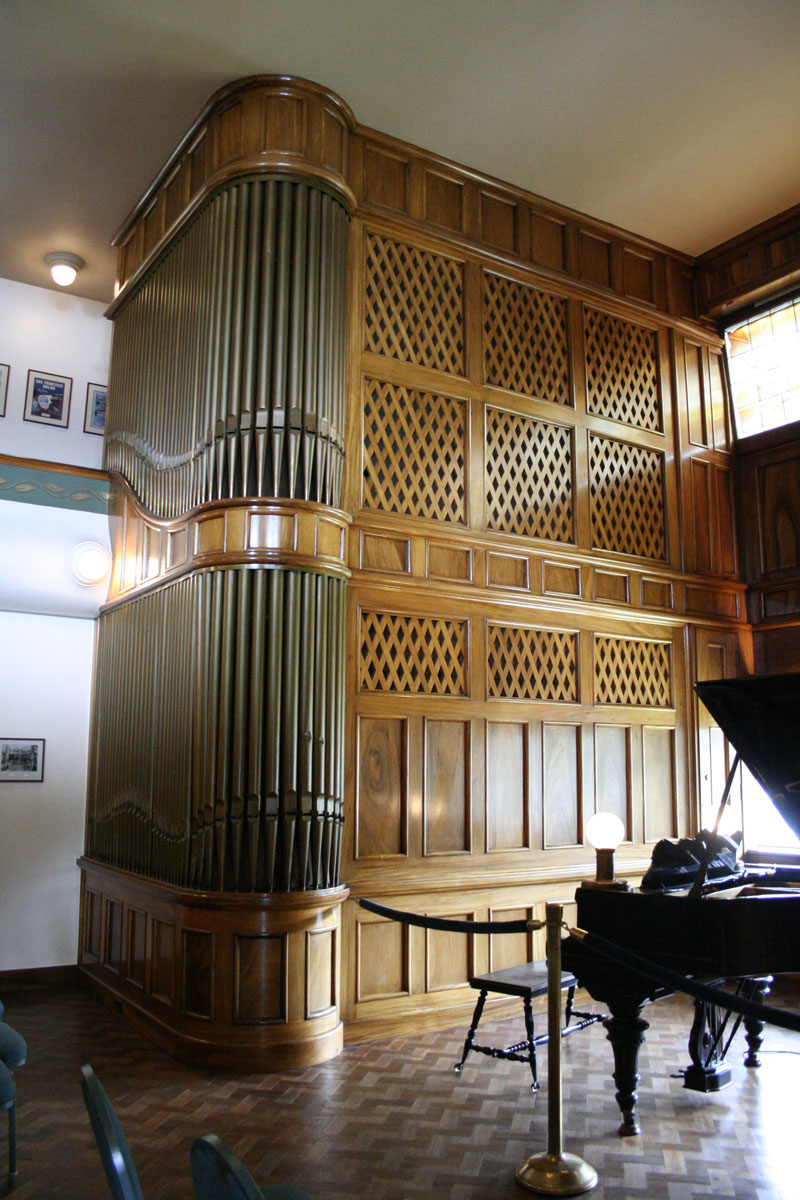 Music room - an Aeolian Pipe Organ from 1913
